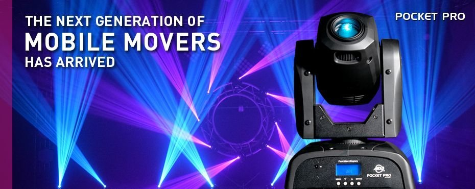 Moving heads, rollers och scanners