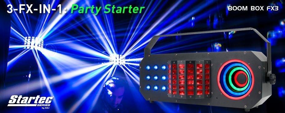 Show-valot, discovalot ja efektivalot