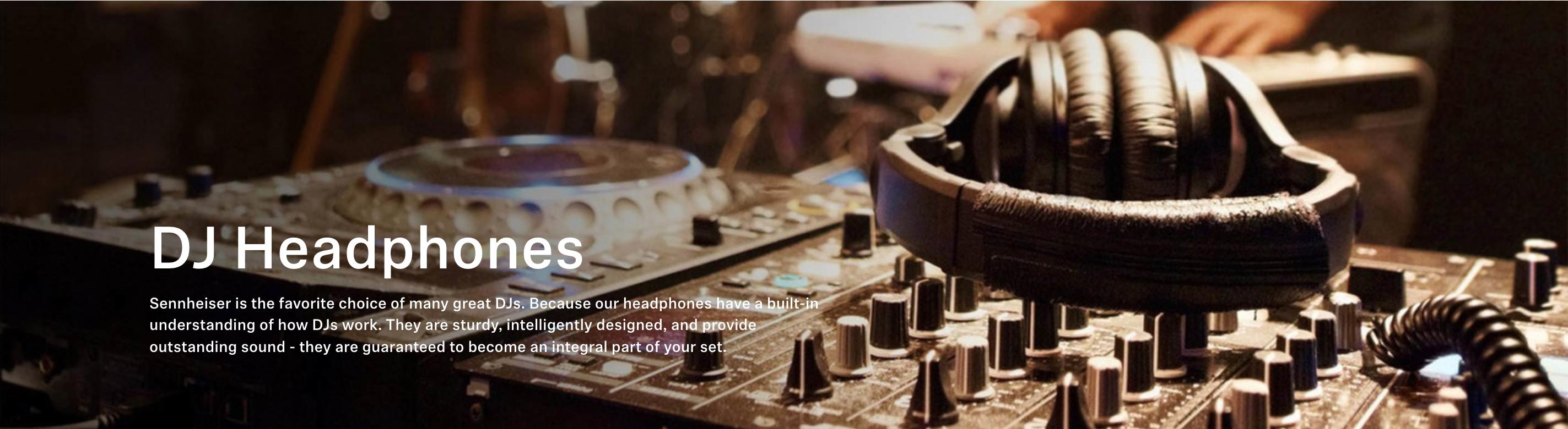 DJ-hörlurar och öronproppar