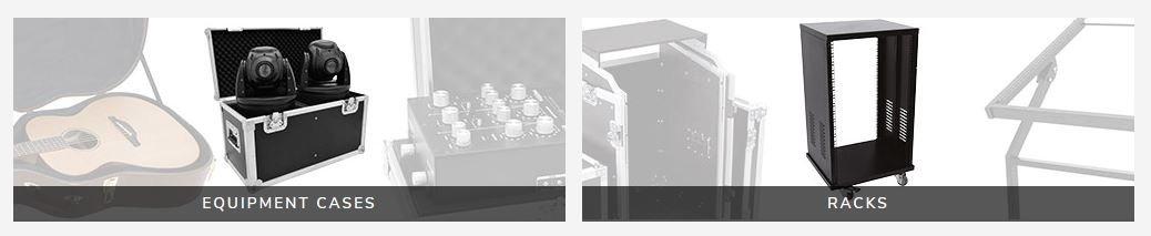 Flightcase och rack