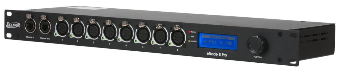 DMX splitter, merger, terminators and adapters