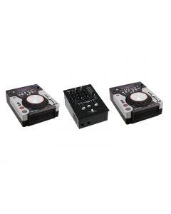 OMNITRONIC DJ SETTI PM-222 + 2x XMT-1400