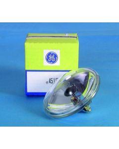 GE 4515 PAR-36 30W 6,5V Halogeenilamppu peilipallospottiin T-36 eli pinspottiin, VNSP 100h