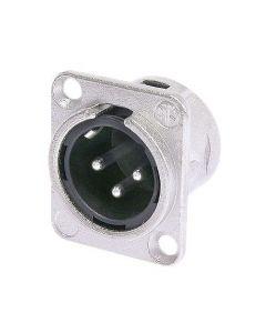 NEUTRIK NC3MD-LX, 3-pole XLR male receptacle