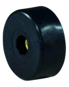 OMNITRONIC Rubber foot, large 38 mm with steel