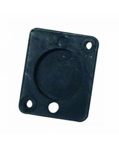 OMNITRONIC Universal XLR blanking plate, black