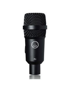 AKG P4 Dynaaminen instrumenttimikrofoni virveli ja