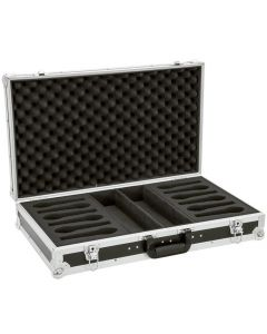 OMNITRONIC Kuljetuslaatikko salkku 12 mikrofonille