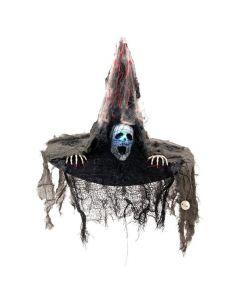 POISTO EUROPALMS Halloween kammottava noitahattu