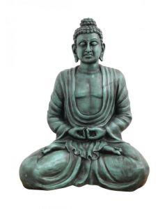 EUROPALMS Buddha patsas antiikki-musta, korkeus