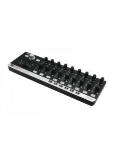 OMNITRONIC FAD-9 MIDI kontrolleri - kätevä koko - helppo käyttää myös aloittelijat