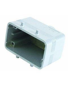 EUROLITE Socket casing for 10-pole, PG 16, straigh