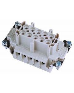 EUROLITE Socket insert 10-pole 16A, screw terminal