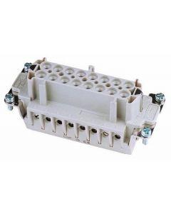 EUROLITE Socket inserts 16-pole 16A,screw terminal