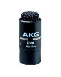 AKG D58E SW Dynaaminen lähipuhemikrofoni, musta