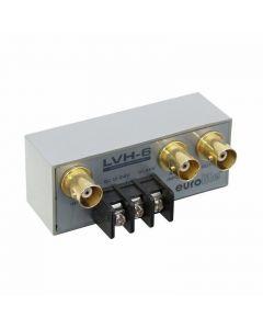 EUROLITE LVH-6 Automaattinen videokytkin 1 tulo 2