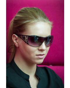 DZN Tyylikkäät aurinkolasit D2506N naisille