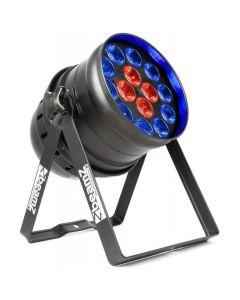 BEAMZ BPP225 LED PAR 64 14x18W RGBAWUV LED IR DMX