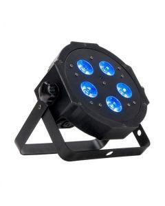 ADJ Mega HEXPAR LED heitin 25 5x 6W HEX color LED UV RGBWA