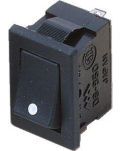 MONACOR DS-850 Rocker switch, Single-pole, ON/OFF