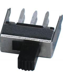 MONACOR T-561 Miniature sliding switch, 2 x ON/ON
