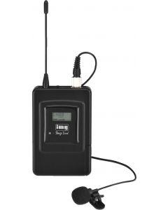 IMG STAGE LINE TXS-606LT langaton lähetin ja solmiomikrofoni