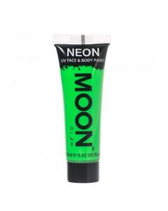 MOONGLOW VIHREÄ UV Neon kasvo sekä vartalomaali