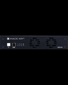ANALOG WAY - DPH104 Picturall media server processor - 4K -> 4x FullHD