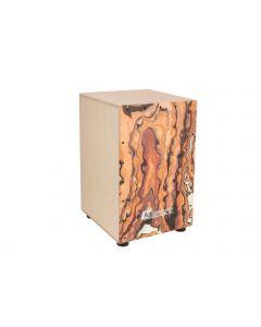DIMAVERY CJ-610 Cajon, puinen cajon rumpu swirl