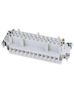 EUROLITE Socket insert 24-pole 16A screw terminal made By ILME UK