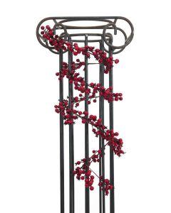 EUROPALMS 180cm Marjakoynnos punaisilla marjoilla