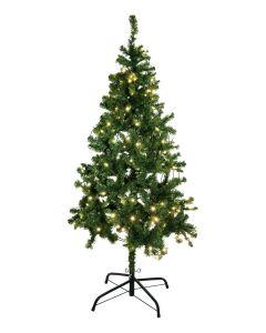 EUROPALMS 210 cm Joulukuusi valaistu
