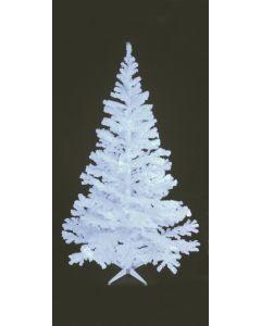 EUROPALMS 240 cm Klassinen kuusi UV-aktiivinen valkoinen