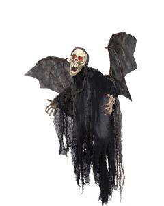EUROPALMS Halloween kammottava lepakko haamu 85 cm