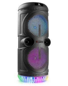 FENTON-SPS75-karaoke-kaiutin-mikrofoni-valoilla