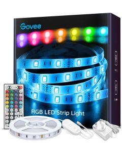 GOVEE RGB LED-nauha 5 metriä 16 väriä valittavissa suoraan kaukosäätimestä