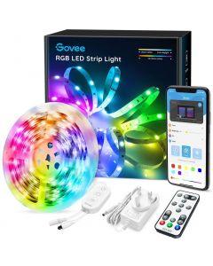 GOVEE RGB LED-nauha 5 metriä ohjattavissa kolmella tavalla