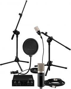 IMG STAGELINE SONGWRITER-1Bundle äänikortti mikrofoni