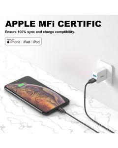 Iphone-latauskaapeli-lighting to-USB