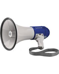 monacor-tm-15-megafoni-25w-aanenvoimakkuuden saadolla