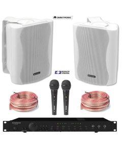 monacor-sa-250-omnitronic-c-50-kaapelit-valmis-karaoke-yleisaanentoisto-paketti