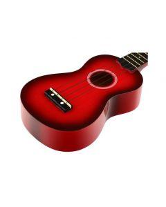 NOIR Punainen ukulele Baton Rouge Noir NU-1S