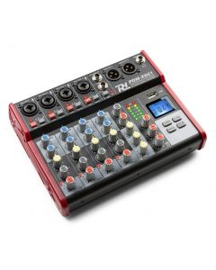 POWERDYNAMICS PDM-X401 4-Channel Studio Music Mixer