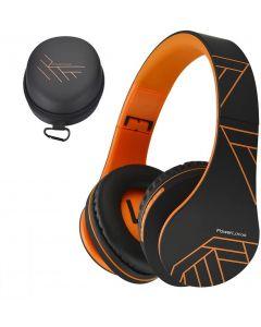 POWERLOCUS P2 Bluetooth kuulokkeet Oranssi/Musta