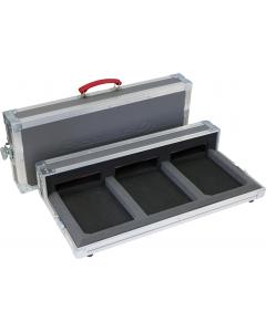 PIONEER PRO-350-FLT Case 5 Star DJ kuljetuslaatikko - DJM-350 - 2X CDJ-350 - Harmaa