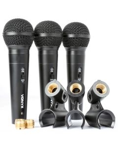 vonyx-vx1800s-dynaaminen-mikrofoni-3kpl-setti