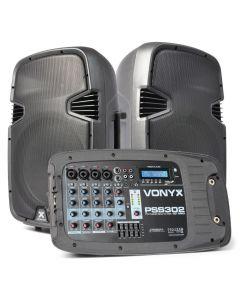 VONYX PSS-302 Siirrettävä kaiutinjärjestelmä