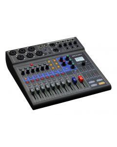 ZOOM LiveTrak L8 - Mikseri tallennin raituri äänitykseen, stream, podcast - Sisäinen äänikortti