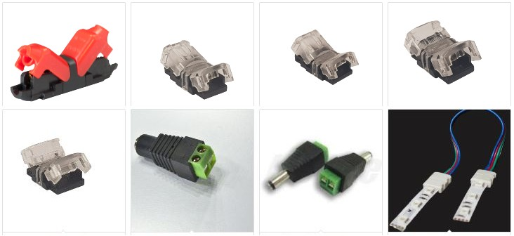LED Connectors and accessories
