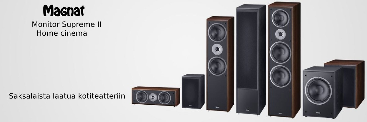 Hifi speakers and home theater speakers